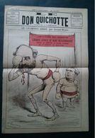 Le Don Quichotte, 20 Octobre 1888, Le Champion Ribot, Boxe, Par Gilbert-Martin, Grande Séance De Boxe Révisionniste - Newspapers