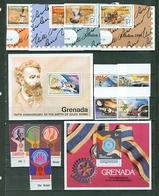 Grenada Jules Verne 1979 Rotary Rowland Hill Ovpts 1980 Set Souvenir Sheet Block MNH WYSIWYG A04 - Grenada (1974-...)