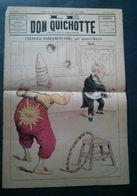 Le Don Quichotte, 1er Février 1890, Exercice Parlementaire Par Gilbert-Martin. - Newspapers