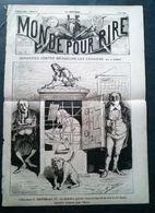 Le Monde Pour Rire, Garanties Contre Les Messieurs Les Caissiers Par A.Lemot, 5 Juin 1869, - Newspapers