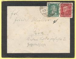 Deutsches Reich - 1927 - 5 + 10 - Viaggiata Da Naumburg Per Gera - Storia Postale