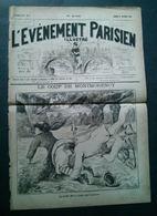 Le Coup De Montmorency, La Belle Fille S'étala Sur Le Gazon, L'Événement Parisien Illustré 11 Février 1882 - Newspapers