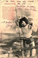 Bergeret 209, Femme Pêcheur à La Ligne - Bergeret