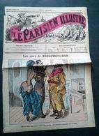 Le Parisien Illustré Du 26 Mars 1882, Deuxième Année No 56, Journal Grivois. - Newspapers