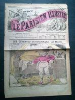 Le Parisien Illustré Du 3 Au 15 Janvier 1882, Troisième Année, No 47, Journal Grivois. Les étrennes De Duconard - Newspapers