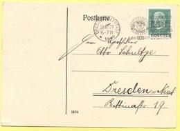 Deutsches Reich - 1929 - 5 + Special Cancel Dresden International Hygiene Ausstellung 1930 - Postkarte - Viaggiata Da Dr - Deutschland