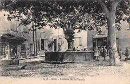 CPA NANS - Fontaine De La Placette - Nans-les-Pins