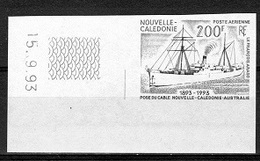 New Caledony 1993, Ships, 1val IMPERFORATED - Nouvelle-Calédonie