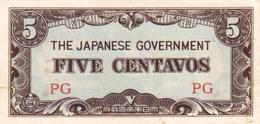 PHILIPPINES P. 103a 5 C 1942 UNC - Philippines