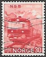1954 Railway, 30 Ore, Used - Norway