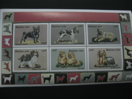 Burkina Faso 1999 Dogs Fauna  Sheetlet  SCOTT No.1147  I201807 - Burkina Faso (1984-...)