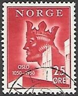 1950 King, Oslo, 25 Ore, Used - Norway