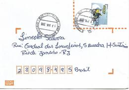 LSJP BRAZIL COVER SEAL SENATOR SENADOR TEOTONIO 2016 - Brazil
