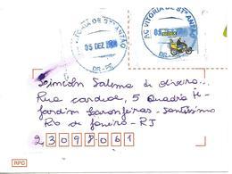 LSJP BRAZIL COVER SEAL VITORIA DE SANTO ANTÃO 2011 - Brazil