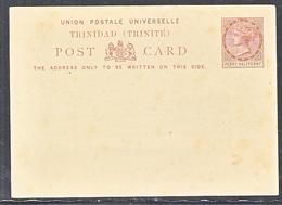 TRINIDAD  ( TRINITE )  STAMPED POSTAL CARD  MINT. - Trinidad & Tobago (...-1961)