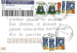 LSJP BRAZIL COVER SEAL MARQUES DE CARAVELAS 2012 - Brazil