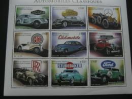 Comoros 1998 Classic Automobiles Sheetlet  SCOTT No.840  I201807 - Comoros