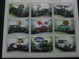 Comoros 1998 Classic Automobiles Sheetlet  SCOTT No.841  I201807 - Comoros