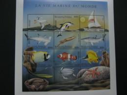 Comoros 1998 Marine Life Fishes   Sheetlet  SCOTT No.829 I201807 - Comoros