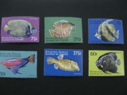 Comoros  1999   Marine Life Fishes   SCOTT No.868-873 I201807 - Comoros