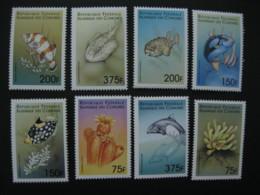 Comoros  1999  Marine Life   SCOTT No.878-885 I201807 - Comoros