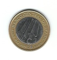 LSJP BRAZIL COIN 40 YEARS OF THE CENTRAL BANK 2005 - Brazil