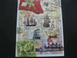 Gambia  2000 Ships Sheetlet SCOTT No. I201807 - Gambia (1965-...)