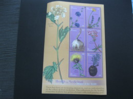 Gambia 2001 Medicinal Plants Sheetlet SCOTT No.2411 I201807 - Gambia (1965-...)
