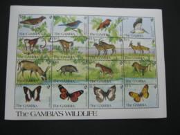 Gambia 1991 Wildlife   Sheetlet SCOTT No.1064   I201807 - Gambia (1965-...)