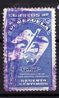 Venezuela, 1949- Anniversario De La Union Postal Universal. Cancelled NH - Venezuela