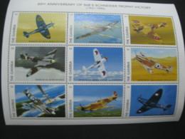 Gambia 1996 Airplanes Battleplanes  Sheetlet SCOTT No.1823 I201807 - Gambia (1965-...)