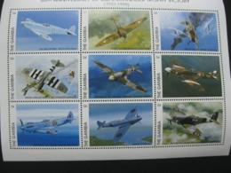 Gambia 1996 Airplanes Battleplanes  Sheetlet SCOTT No.1823J  I201807 - Gambia (1965-...)