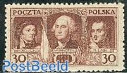 Poland 1932 George Washington 1v, (Mint NH), History - American Presidents - Politicians - 1919-1939 República