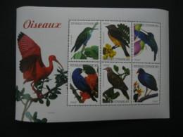 Central Africa  2001 Birds Sheetlet SCOTT No.1410  I201807 - Central African Republic