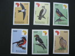 Central Africa 1999 Birds Of Africa 6 Stamps SCOTT No.1229-1234 - Central African Republic