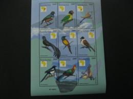 Central Africa  1999 Birds Sheetlet  SCOTT No.1235  I201807 - Central African Republic