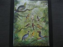 Central Africa  2000 Birds  Sheetlet  SCOTT No.1321  I201807 - Central African Republic