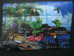 Central Africa  2001 Birds  Sheetlet  SCOTT No.1408  I201807 - Central African Republic