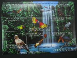 Central Africa  2001 Birds  Sheetlet  SCOTT No.1409  I201807 - Central African Republic