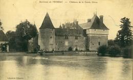 PRISSAC .  Château De La Garde Giron .   BELLE CARTE . - Francia