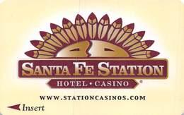Santa Fe Station Casino - Las Vegas NV - Hotel Room Key Card - Hotel Keycards