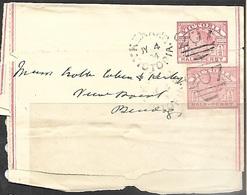 Victoria  1904   Cancel On Air Letter To Mendog - 1850-1912 Victoria
