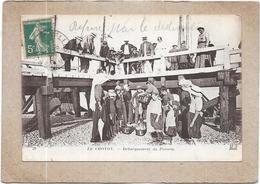 LE CROTOY - 80 -  Débarquement Du Poisson   - DELC5** -- - Le Crotoy