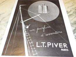 ANCIENNE PUBLICITE PARFUM D AVENTURE L.T.PIVER 1931 - Other