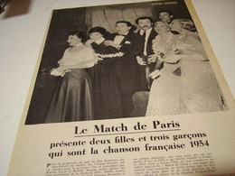 ANCIENNE PHOTO  5 NOMS DE LA CHANSON 1956 - Music & Instruments