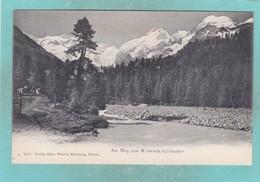Old Post Card Of Morteratsch Glacier,Bündner Alps In Switzerland,R70. - Switzerland