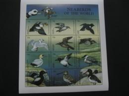 Antigua And Barbuda 1998 Sea Birds Sheetlet SCOTT No.2208 I201807 - Antigua And Barbuda (1981-...)