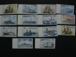 Barbados 1994 Ships Definitive  SCOTT No.872-885  I201807 - Barbados (1966-...)