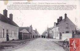 89 - Yonne - La Chapelle Champigny  - Entrée Du Village En Venant De Pont Sur Yonne - Autres Communes