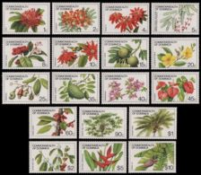 Dominica 1981 Flower And Flora Definitive  SCOTT No.716-733  I201807 - Dominica (1978-...)